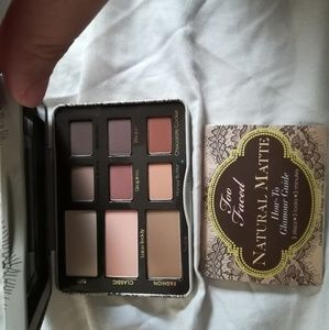 Too Faced Natural Matte Eyeshadow Palette New